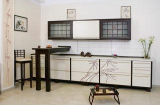 Японська філософія в меблів для кухні
