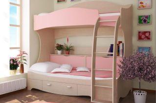 Двухъярусные кровати бренда Bibu — идеальный выбор для детской комнаты