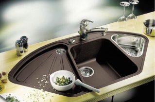 Вибір кам'яної мийки для кухні