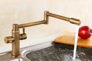 Змішувачі з бронзи для ванної та кухні