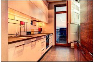 Як вбудовують холодильник в кухню?