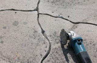 Закладення тріщин смолою