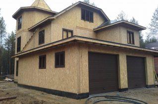 Технология изготовления домов из СИП-панелей