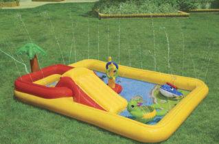 Переваги дитячого надувного басейну