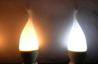 Светодиодные лампы свечи: преимущества и особенности