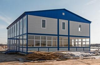 Швидкомонтовані модульні будівлі