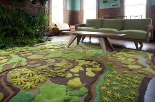 Інтер'єр і килим у вашому будинку