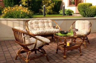 Меблі з ротангу: особливості та переваги