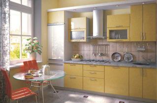 Жовта кухня — сміливе рішення в інтер'єрі