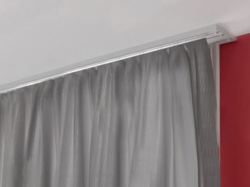 Потолочные карнизы для штор к потолку