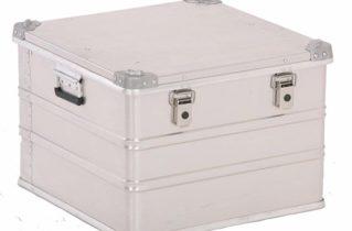 Алюмінієві ящики: особливості та переваги
