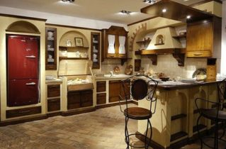Італійські кухні в сучасному стилі
