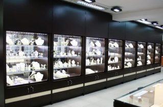 Освещение торгового зала продуктового магазина
